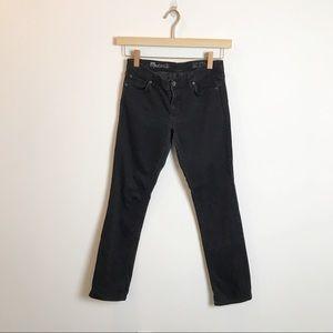Madewell | Rail Straight Black Jeans 29x34